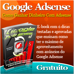 Dicas para ganhar dinheiro com o Google Adsense E-book Grátis