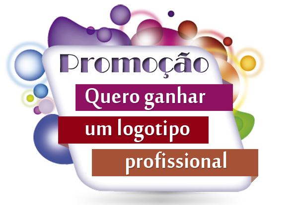 Promoção Quero ganhar logotipo profissional
