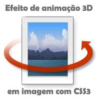 Efeito de animação 3D em imagem com puro CSS3