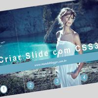 Instalar slide de imagens usando apenas CSS3