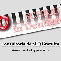 Consultoria SEO grátis blog schreiindeutsch.net